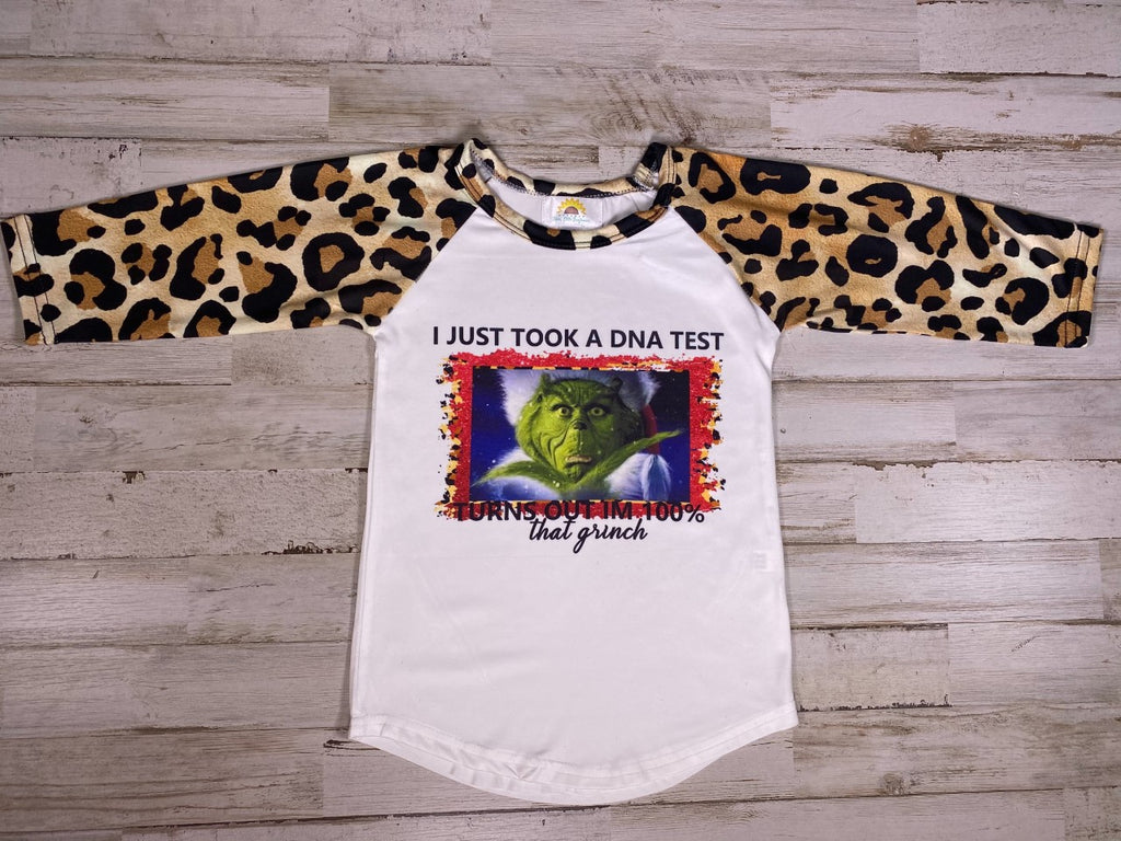 Girls Grinch Graphic T-shirt
