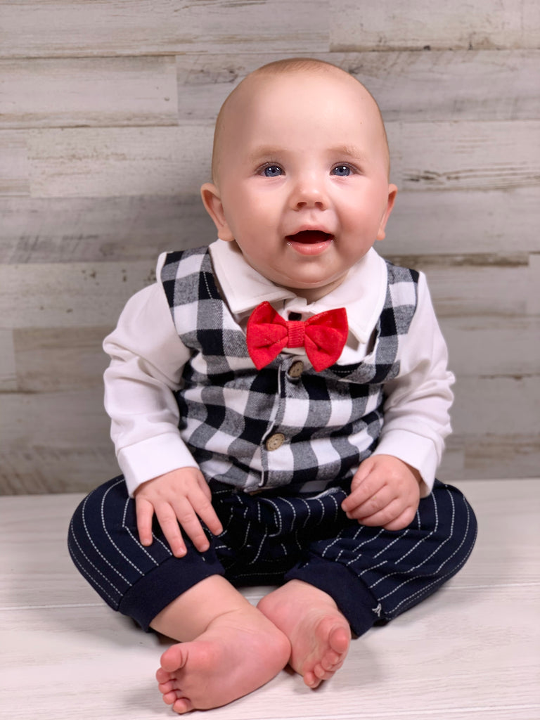 Boys Little Man Outfit