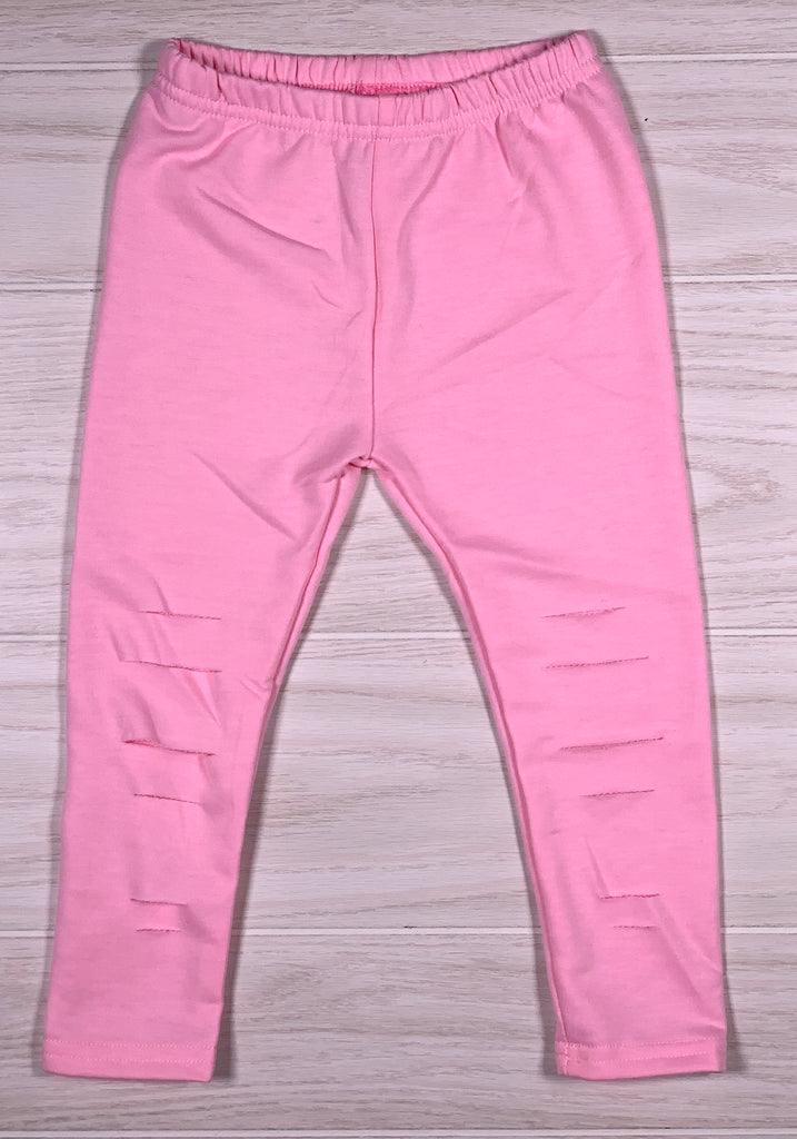 Light Pink Ripped Legging