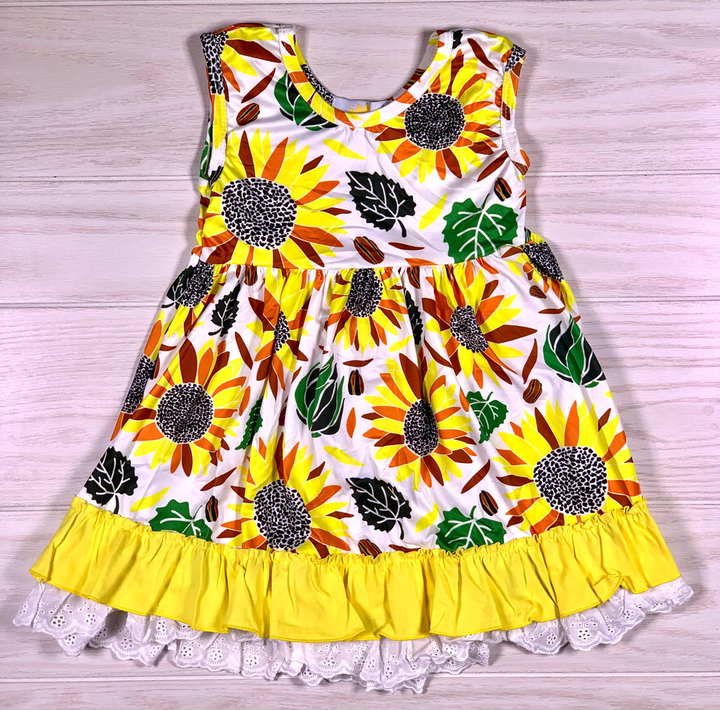 Sunflower Spring Dress