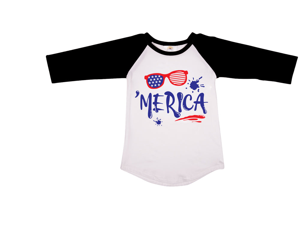 MERICA GRAPHIC T-SHIRT - Sassy Little Sunflower