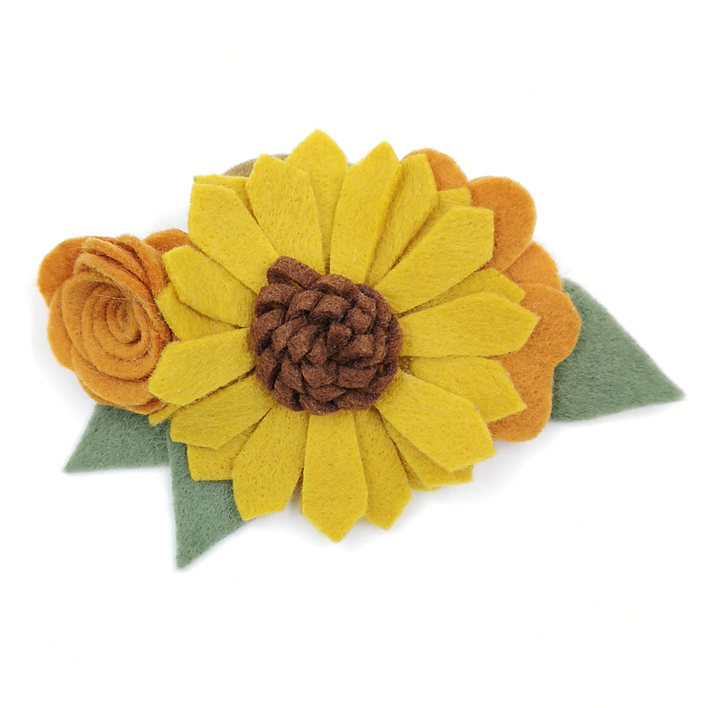 Sunflower Headband - Sassy Little Sunflower