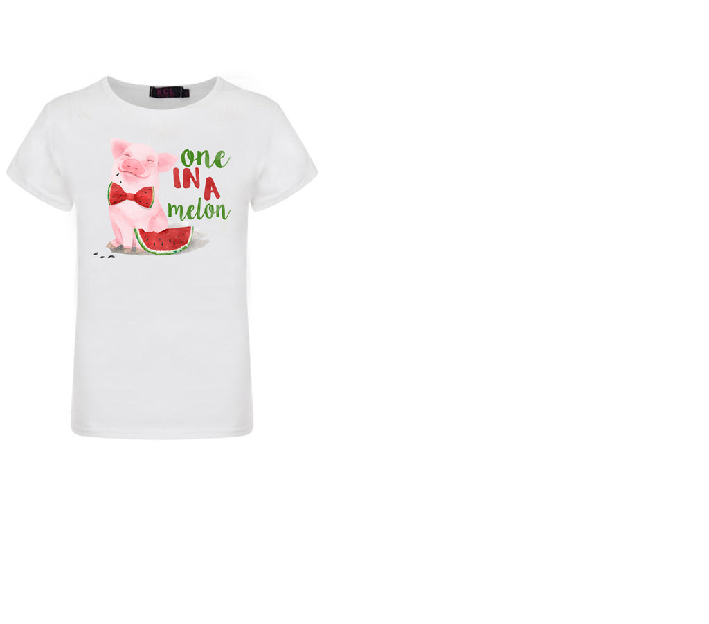One in a melon Graphic T-shirt - Sassy Little Sunflower