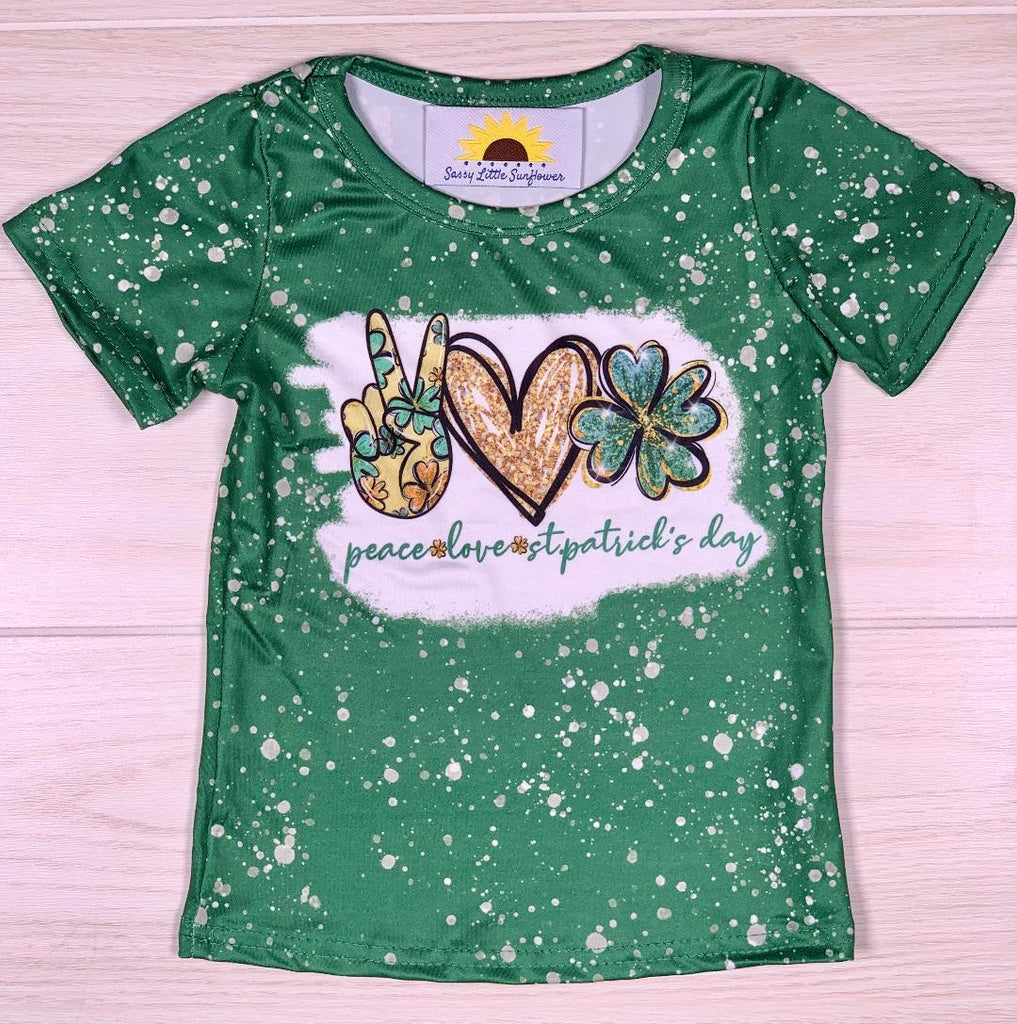 Peace, Love, St. Patrick's Day Shirt