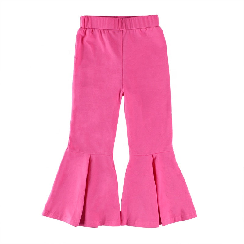 hot pink pleated bells - Sassy Little Sunflower