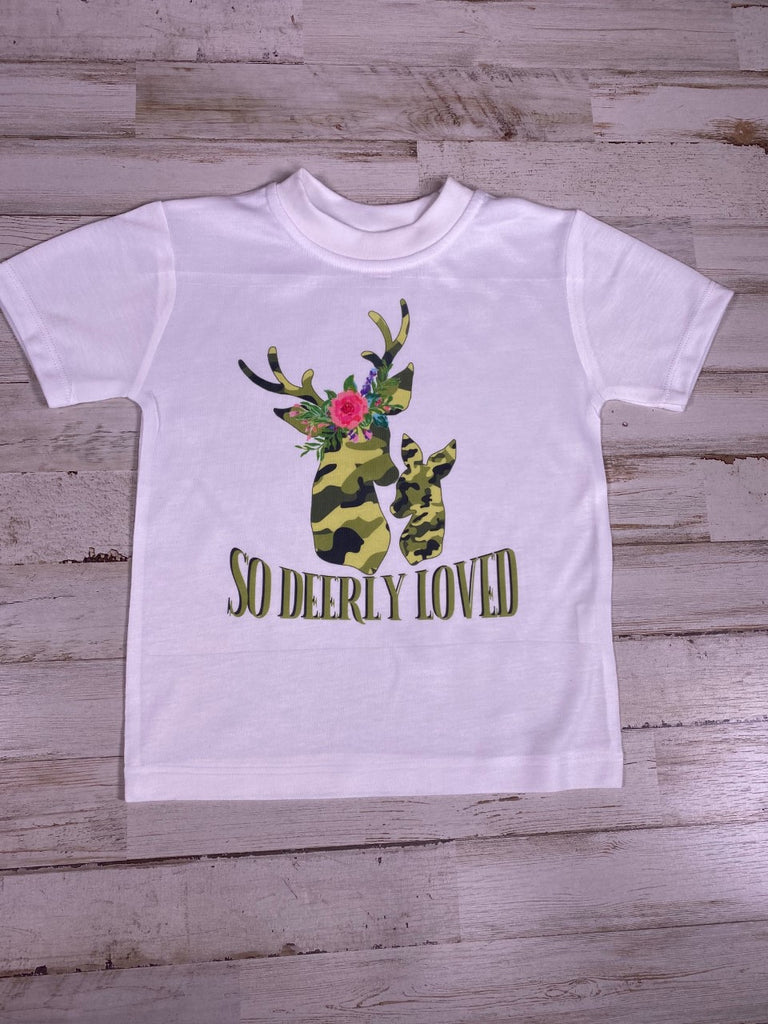So Deerly Loved Graphic T-Shirt