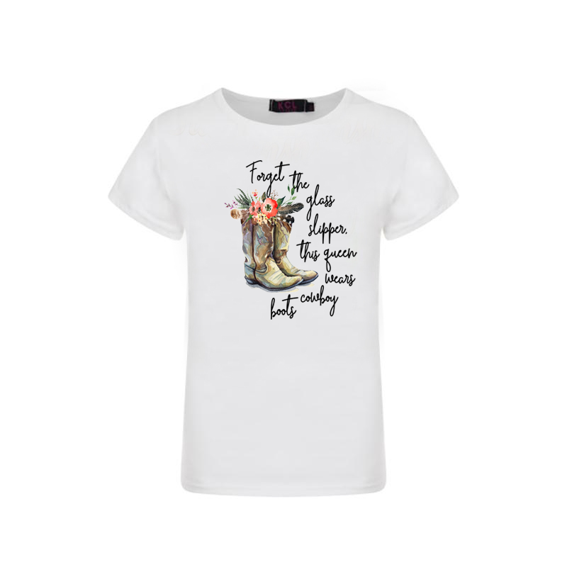 Forget The Slippers Graphic T-shirt - Sassy Little Sunflower