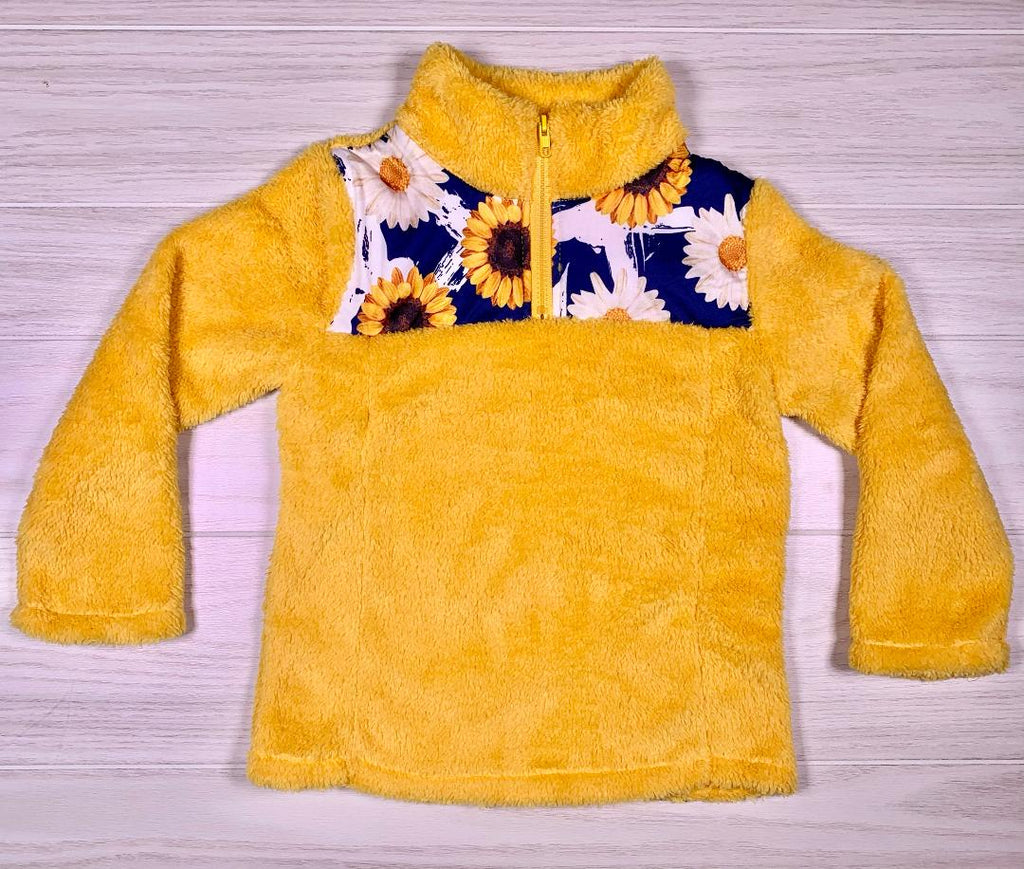 Sassy Sunflower Yellow Sherpa
