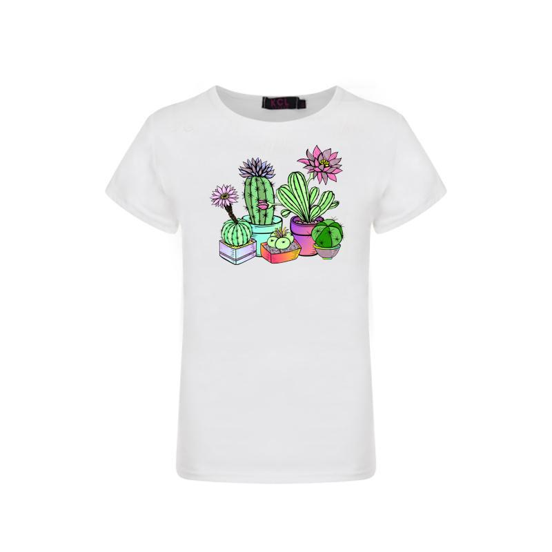 Cactus Graphic t-shirt - Sassy Little Sunflower