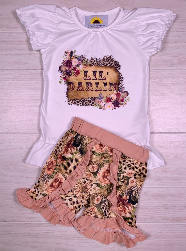 Lil' Darlin Short Set
