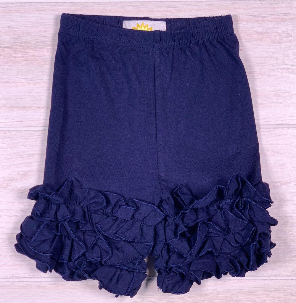 Ruffle Shorts NAVY