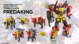 Transformers Power of the Primes Titan Class Predaking Render Decepticon