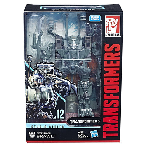 Transformers Movie Studio Series 12 Voyager Decepticon Brawl Packaing MISB box