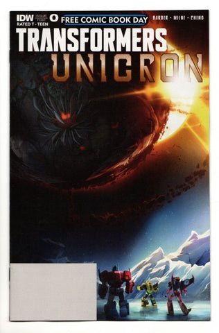 Transformers: Unicron Issue 0 Comic Book FCBD