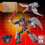 Transformers POTP Power of the Prime Selects Dinobot Swoop Red Chest Deluxe Solicit Promo