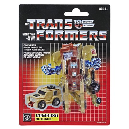 Transformers Vintage G1 Outback Reissue