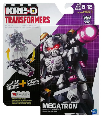 Kre-O Transformers Kreon Battle Changer Megatron