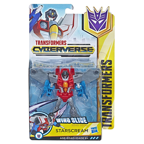 Transformers Cyberverse Starscream - Warrior