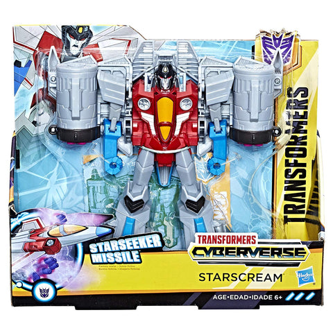 Transformers Cyberverse Starscream - Ultra