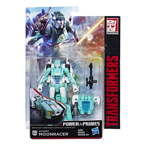 Transformers Power of the Primes Moonracer Deluxe Packaging Box
