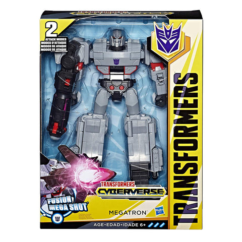 Transformers Cyberverse Ultimate Class Megatron Packaging Box