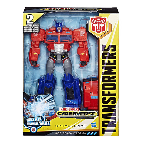 Transformers Cyberverse Ultimate Optimus Prime Packaging Box MISB