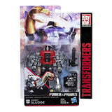 Transformers Power of the Primes Sludge Deluxe dinobot packaging