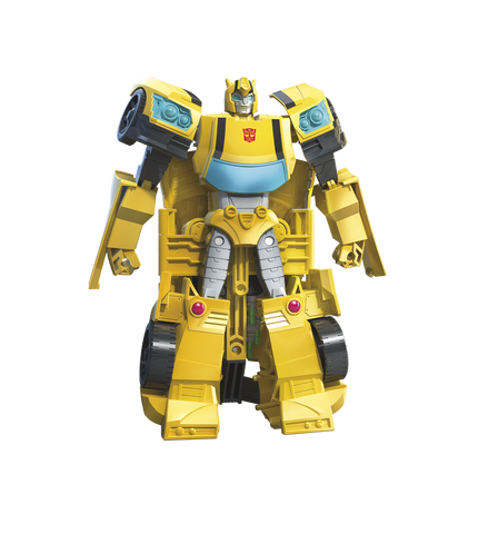 Buy Transformers Cyberverse Hive Swarm Bumblebee Ultra Toy Figure Collecticon Toys