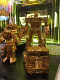 Transformers Masterpiece Golden Lagoon MP-10 Optimus Prime Convoy Gold Tokyo Toy Show
