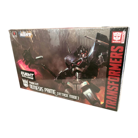 Furai Model 03 Nemesis Prime Attack Mode Model kit from Flame Toys NYCC 2018 exclusive