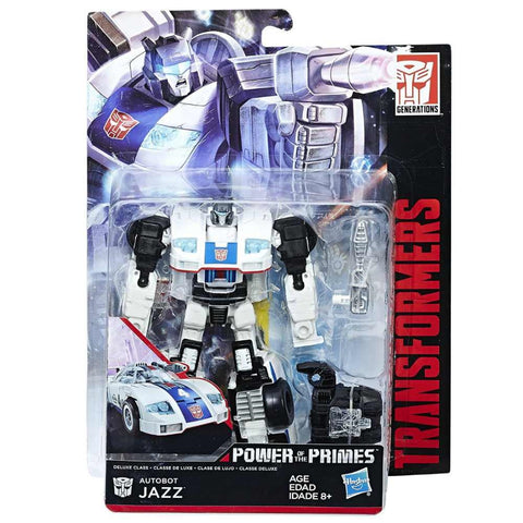 Transformers Power of the Primes Autobot Jazz Deluxe Packaging