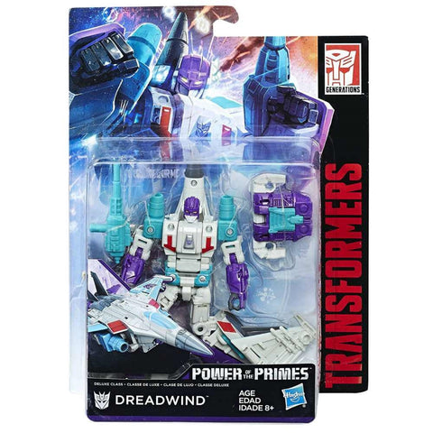 Transformers Power of the Primes Deluxe Dreadwind Packaging Box