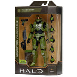 Halo The Spartan Collection Master Chief with accessories 6.5 inch jazwares box package front angle