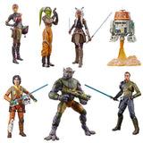 Hasbro Star Wars The Black Series Rebels Complete Set action figure toys