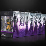 Hasbro Star Wars The Black Series Rebels Complete Set Box Package box package side artwork