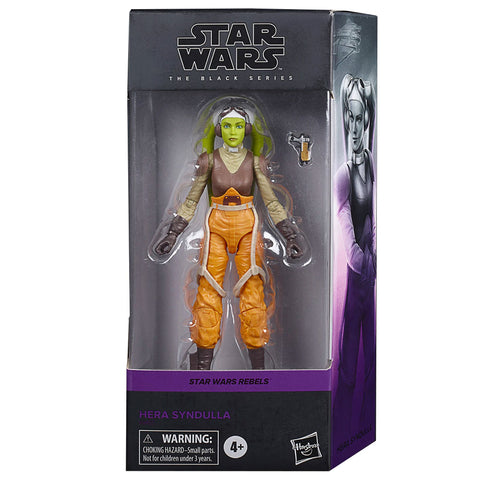 Hasbro Star Wars The Black Series Rebels Hera Syndulla box package front