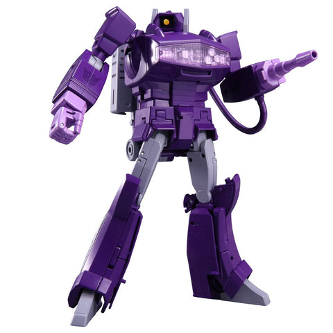 Transformers Masterpiece MP29+ Dark Purple Shockwave Laserwave Robot