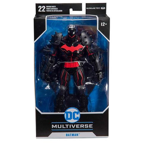 McFarlane Toys DC Multiverse Hellbat Suit Batman Armor Box Package Front