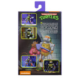 NECA TMNT Teenage Mutant Ninja Turtles Metalhead target exclusive Box package back