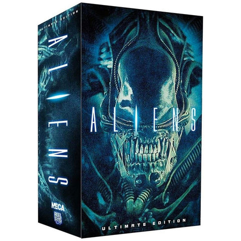 NECA Aliens Warrior Alien Blue Ultimate Edition box package front