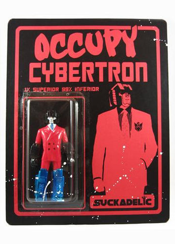 Suckadelic Occupy Cybertron Red Suit One Percenter