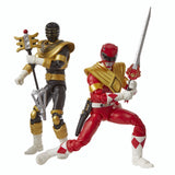 SDCC2019 Power Ranger Lightning Collection Mighty Morphin Red Zeo Gold Ranger 2-pack Sword Toy