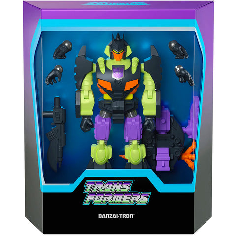 Super7 Transformers Ultimates G1 Action Master Banzai-Tron box package front