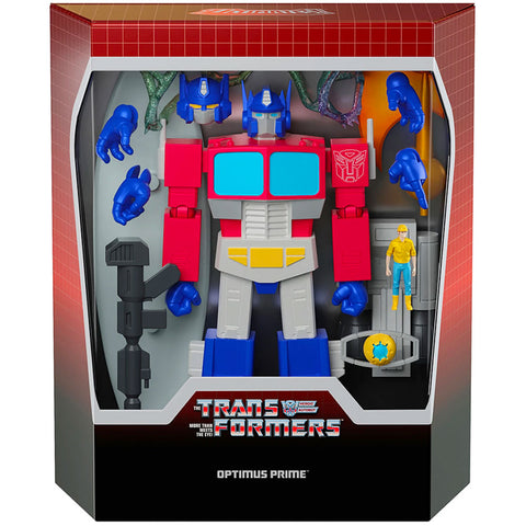 Super7 Transformers Ultimates Optimus Prime - 7-inch