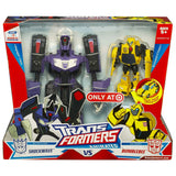 Transformers Animated Purple Shockwave vs Activator Bumblebee 2-pack Target Exclusive Box Package Front