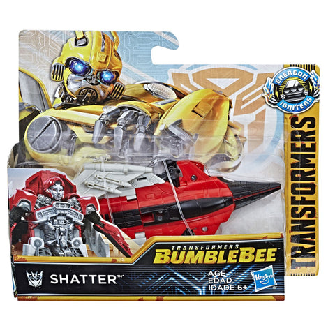 Transformers Bumblebee Movie Energon igniters Power series Jet Shatter Box Package