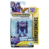 Transformers Cyberverse Scout Class Decepticon Shadow Striker Box Package