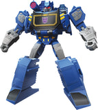 Transformers Cyberverse Warrior class decepticon Soundwave robot render