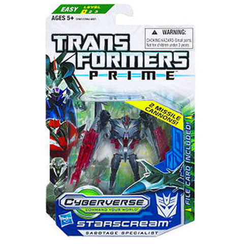 Transformers Prime Cyberverse Commander Class Series 2 003 Starscream Box Package Front
