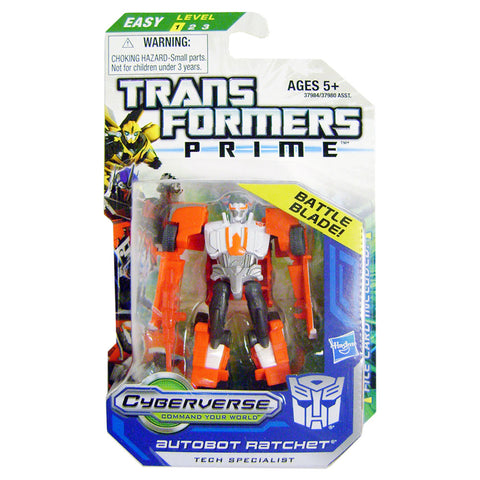 Transformers Prime Cyberverse Legion Class 2 004 Autobot Ratchet Tech Specialist Battle Blade Box Package Front